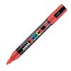 Dekormarker UNI POSCA PC-5M 1.8-2.5 mm, kúpos, PIROS