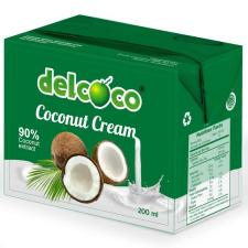 Del Coco kókusztejszín, 200 ml tejtermék