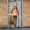 delight Szúnyogháló függöny ajtóra mágneses 100x210cm feliratos