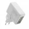 delight Univerzális utazó adapter 4 USB ajzattal és cserélhető AC dugóval (55042)