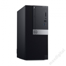Dell DELL PC Optiplex 7060 MT, Intel Core i7-8700 (4.60GHz), 8GB, 1TB HDD, AMD Radeon™ RX 550, Win 10 Pro asztali számítógép