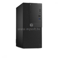 Dell Optiplex 3050 Mini Tower | Core i5-7500 3,4|12GB|500GB SSD|2000GB HDD|Intel HD 630|MS W10 64|3év (3050MT_229463_12GBW10HPS500SSDH2TB_S) asztali számítógép