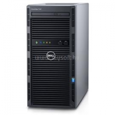 Dell PowerEdge T130 Tower H330 | Xeon E3-1220v6 3,0 | 16GB | 2x 250GB SSD | 1x 1000GB HDD | nincs | 3év (DPET130-69_16GBS2X250SSDH1TB_S) szerver