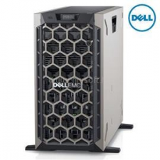 Dell PowerEdge T440 Tower H730P+ 1x 4208 2x 495W iDRAC9 Enterprise 8x 3,5 | Intel Xeon Silver-4208 2,1 | 32GB DDR4_RDIMM | 2x 500GB SSD | 1x 2000GB HDD szerver