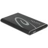 DELOCK 2.5 Külső merevlemezház SATA HDD > SuperSpeed USB 10 Gbps (USB 3.1 Gen 2)