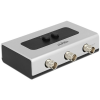 DELOCK 2 portos BNC switch manuális