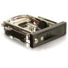 DELOCK 3.5' SATA3 mobil rack fekete zárható