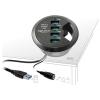 DELOCK 4 portos USB3.0 HUB asztalba építhető