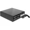 "DELOCK 5.25"" hordozható rack 4 x 2.5"" SATA HDD / SSD-hez"