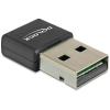 DELOCK 88541 USB 2.0-s WLAN b/g/n Nano 150 Mb/s