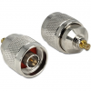 DELOCK Adapter MCX Plug > N Plug