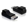DELOCK adapter mini DisplayPort (F) - DisplayPort (M)