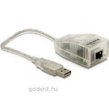 DELOCK Adapter USB 2.0 > LAN 10/100 Mb/s kábel és adapter