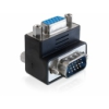 DELOCK Adapter VGA male / female 270° angled