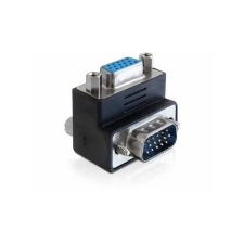 DELOCK Adapter VGA male / female 270° angled asztali számítógép kellék