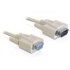 DELOCK adatátviteli kábel DB9F/DB9M 3m