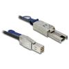 DELOCK Cable Mini SAS HD SFF-8644 > Mini SAS SFF-8088 1 m