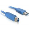 DELOCK Cable USB 3.0 A-B male/male 1.8m