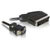 DELOCK Cable Video Scart output > VGA input 2m