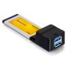 DELOCK DeLock DeLExpress Card > 2x USB 3.0