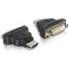 DELOCK HDMI apa / DVI Dual Link anya LED-del