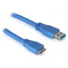 DELOCK KAB USB3.0 Kábel Delock USB3.0–A Micro USB3.0 átalakító 1m 82531