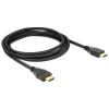 DELOCK kábel HDMI apa-apa összekötő, 3m - DL84408