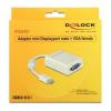 DELOCK Mini Display VGA Adapter DELOCK 65130 Fehér