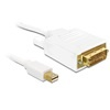 DELOCK mini DisplayPort - DVI-D Dual Link kábel 3 m