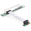 DELOCK PCI-E x1 -> PCI Riser card (5V, 9cm-es kábellel)