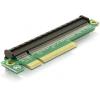 DELOCK PCI-E x8 -> PCI-E x16 Riser card