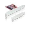 DELOCK PCIe -> 2x SATA 6Gb/s