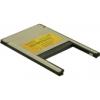 DELOCK PCMCIA kártyaolvasó 2 az 1-ben Compact Flash I/II - IBM Microdrive Type II PC Card
