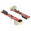 DELOCK Slim SATA 13 Pin > USB 2.0 Typ B átalakító 62651