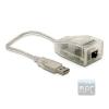DELOCK USB2.0 10/100Mbps hálózati adapter