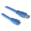 DELOCK USB3.0 A – Micro USB3.0 átalakító kábel, 1 m (82531)
