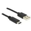 DELOCK USB 2.0 kábel A - C 0,5 m