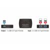 DELOCK USB 3.0 megosztásó kapcsoló 2 - 1