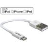 DELOCK USB adat- és töltőkábel iPhone™, iPad™ és iPod™ készülékhez 15 cm fehér