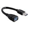 DELOCK USB hosszabbító kábel 3.0 A-A 15 cm