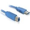 DELOCK USB kábel 3.0 A-B 1m