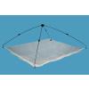 Delphin Csaliháló delphin nylon hálóval-100x100cm