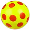 Dema Stil Sárga gumilabda piros pöttyökkel - 22 cm