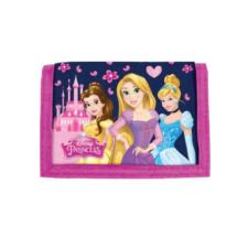 DERFORM Disney Hercegnők pink tépőzáras pénztárca pénztárca