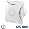 - Design ventilátor fehér XT (125 mm) időkapcsolós