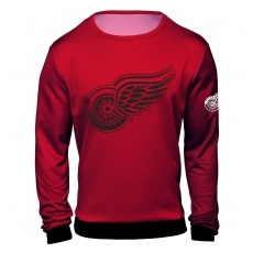 Detroit Red Wings FĂŠrfi póló NHL Static Rain - L,(USA)