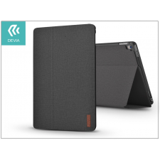 Devia Apple iPad 9.7 (2017) védőtok (Smart Case) on/off funkcióval - Devia Flax Flip - black tablet tok