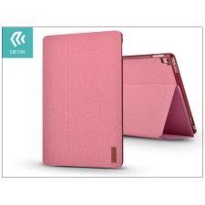 Devia Apple iPad 9.7 (2017) védőtok (Smart Case) on/off funkcióval - Devia Flax Flip - pink tok és táska