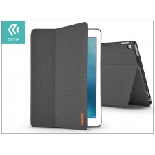 Devia Apple iPad Pro 10.5/iPad Air (2019) védőtok (Smart Case) on/off funkcióval - Devia Flax Flip - black tablet tok