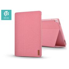 Devia Apple iPad Pro 10.5/iPad Air (2019) védőtok (Smart Case) on/off funkcióval - Devia Flax Flip - pink tablet tok